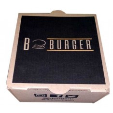 Hamburger Kutusu - 15x13x8